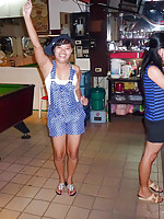 Chubby butt Jomtien bargirl Nara fucked without a condom