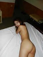 Super thin thai girl fucks and gets a creampied pussy