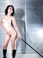 Gorgeous Lin nude in high heels