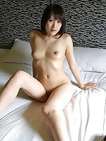 Japanese MILF Keiko Okuyama gets her pussy wet with sex toys before a cock goes in.