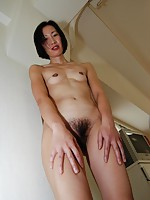 MILF Japanese Mariko Konishi gets her pussy fucked hard and receives a cum on her face.