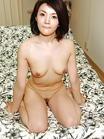 Japanese babe Saki Machida moans in joy as sex toys and cock penetrates her wet cunt.