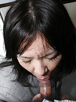 Mature Japanese Makiko Nakane wants her pussy to get pleasured with hard cock.