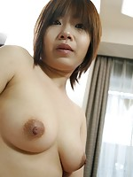 Horny Japanese MILF Naomi Nakane wants sex toys and cock to pleasure her hairy pussy.