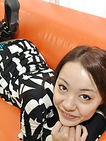 Hot MILF Japanese Aya Nakano moans in joy as sex toys and hard cock penetrates her pussy.