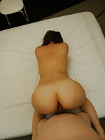 Japanese MILF Mari Teramura moans in joy as vibrators penetrates in her pussy.