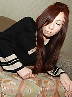 Mature Japanese babe Mika Fukuyama moans in joy as her shaved pussy gets teased with toys and penetrated by a hard dick.