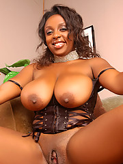 Ms Panther in a very seductive and very attractive lingerie outfit for that lucky stud.