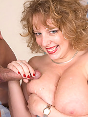 Swarthy hunk fucks the shit out of sexy fat mommy