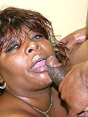 Black Big Beautiful Woman Gets Fucked