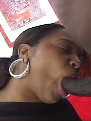 Amber Gets Pumped and Swallows a Load