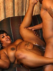 Ebony BBW Babe Giving Great Head