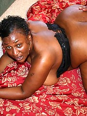 Sexy Black BBW Loves Hard Cock