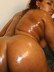 Ya Ya Gets Oiled Up And Fucked