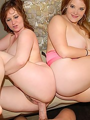 2 hot big tits babe share their 4 titties in these hot big ass fun bags 3some fuck fest and face cumming action