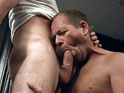 Hot guys in anal action here