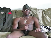 Black stud masturbating here !