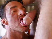 Ross being a total cock hound and gorging himself on Gary