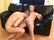 Hot passionate sex and Troy fucking Johnny in every position possible, climaxes into each giving one another huge cum facials.