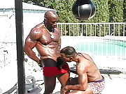 """Big bad Bobby Blake is in true trash talking form as he works out his incredible body. """"I"""