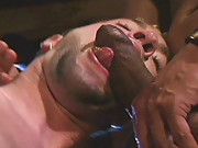 Miguel Leonn is manhandling blonde bad boy Kyle Douglas. The two entwine and consume each other like starving men. Leonn wastes no time spreading the hungry bottom