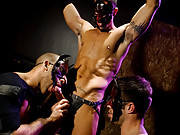 What a collection of kinky cuties we have here. Led by ripped, muscular Spencer Reed, he commands Austin Wilde and Tristan Jaxx to service his large cock before doing the same to Junior Stellano. Ready for more, Junior gets a rambunctious hard fuck from e