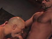 Beginning with a shadowy montage of muscled flesh, Jack and Josh soon move into the light so we can see all of this buff duo in their masculine glory. If you