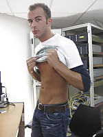 This hot young stud claims he can take it...lets find out!