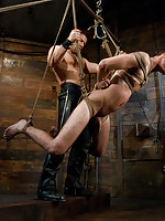 Tristan Jaxx gets tied up and flogged for the very first time.