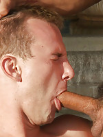 Two studs battle it out in a powerful and sexy grudge match that ends with the winner pounding the loser