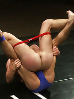 Four NK studly superstars compete in an epic tag team match for complete dominance. The winners gang fuck the losers in a brutal fuck-fest.