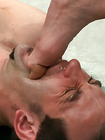 Phenix Saint gets Jason Miller in a full nelson and fucks him hard.