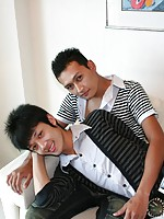 16 photos of 2 cute Thai twinks from Boykakke!
