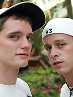 Two beautiful young fresh twinks sucking long hard and mean candies!