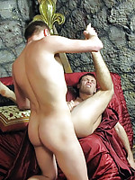 The king of hot twinks has the ultimate ass penetration with his servant