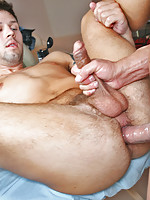 Cutie Jake milks cock with his mouth and ass!