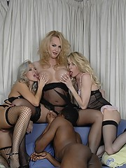 Three transsexuals and a guy having crazy group sex
