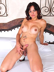 Gabriele Dummont Showing Her Big Fat Cock