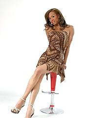 Beyonce Fashion photoshoot posing with a nice dress hiding her fat cock