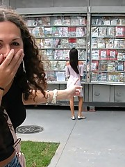 Nikki picking up in the streets of Sao Paulo a hot female to fuck