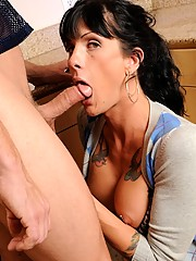 Hot shemale stepsister gets banged by her brother