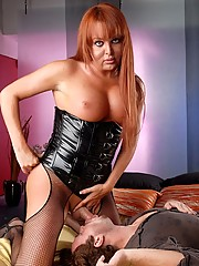 Busty & Horny Wendy Having Some Raw Anal