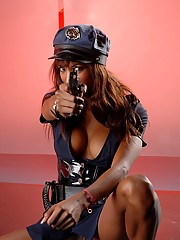 Hot Natassia Dream As A Police Officer