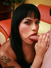 Vegas Foxxy fucked hard on the couch