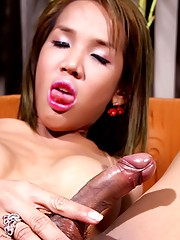 Asian petite Lyla gets a hard cock