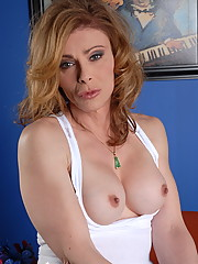 Transsexual teacher in need some cock