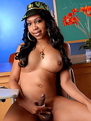 Sexxxy Jade Posing As An Officer