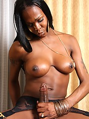 Tall and sexy tgirl from New Jersey with great breasts and a huge cock!