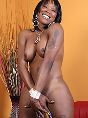 Krystal is a beautiful tranny with tons of sexual energy. She practically oozes it from every part of her body, right down to that luscious cock of hers!