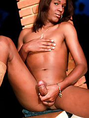 Cute slim 19 year old who loves white meat!